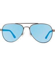 Revo Re1011 jutunkertoja gunmetal - sininen vesi polarisoitunut aurinkolasit