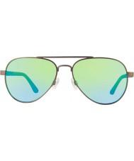 Revo Re1011 jutunkertoja gunmetal - vihreä vesi polarisoitunut aurinkolasit