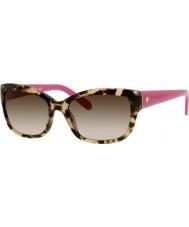Kate Spade New York Naisten johanna-s RYP Y6 havana vaaleanpunainen aurinkolasit