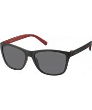 Polaroid Mens pld3011-s LLQ y2 musta punainen polarized aurinkolasit