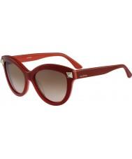 Valentino Hyvät v695s englanti punainen aurinkolasit