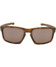 Oakley Oo9262-03 suikale matta ruskea kilpikonnan - lämmin harmaa aurinkolasit
