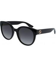 Gucci Hyvät gg0035s 001 aurinkolasit