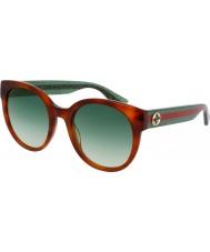 Gucci Hyvät gg0035s 003 aurinkolasit