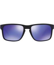 Oakley Oo9102-26 Holbrook julian wilson mattamusta - violetti iridium aurinkolasit