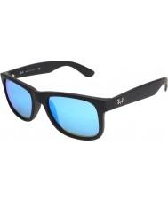 RayBan Rb4165 justin musta - sininen peili