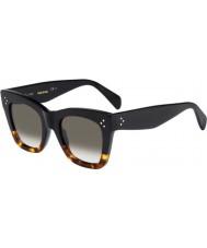 Celine Naisten cl 41090-s fu5 z3 musta tortoiseshell aurinkolasit