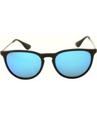 RayBan Rb4171 54 erika musta 601-55 sininen peilattu aurinkolasit
