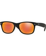 RayBan Rb2132 52 uutta vaeltajille kumi musta 622-69 punainen peili aurinkolasit