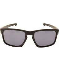 Oakley Oo9262-01 sliver mattamusta - harmaa aurinkolasit