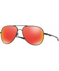 Oakley Oo4119-04 Elmont m ja l satiini musta - rubiini iridium aurinkolasit
