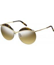 Marc Jacobs Naisten marc 102-s j5g gg kulta hopea peili aurinkolasit
