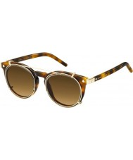 Marc Jacobs Marc 18-s u6j zx Havana kulta aurinkolasit