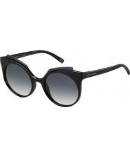 Marc Jacobs Naisten marc 105-s d28 9o kiiltävän musta aurinkolasit