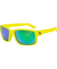 Cebe Jätkä neon keltainen vihreä aurinkolasit