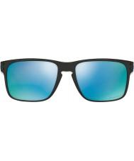 Oakley Oo9102-c1 Holbrook kiillotettu musta - Prizm syvä H2O polarized aurinkolasit
