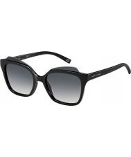 Marc Jacobs Naisten marc 106-s d28 9o kiiltävän musta aurinkolasit