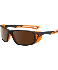 Cebe Proguide mattamusta oranssi 2000 ruskea flash peili aurinkolasit