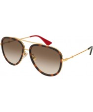 Gucci Ladies gg0062s 012 57 aurinkolasit