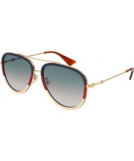 Gucci Naisten gg0062s 013 57 aurinkolasit