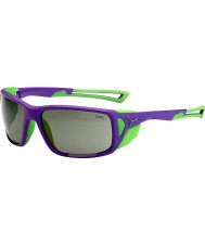 Cebe Proguide violetti vihreä variochrom huippu aurinkolasit