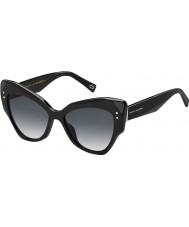Marc Jacobs Naisten marc 116-s 807 9o musta aurinkolasit