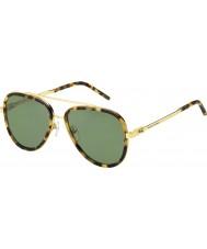 Marc Jacobs Mens marc 136-s LSH dj täplikäs Havana kulta aurinkolasit