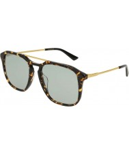 Gucci Miesten gg0321s 004 55 aurinkolasit