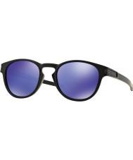 Oakley Oo9265-06 salpa mattamusta - violetti iridium aurinkolasit
