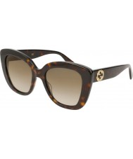 Gucci Ladies gg0327s 002 52 aurinkolasit