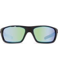 Revo Re4073 opas ii kiiltävä musta - vihreä vesi polarisoitunut aurinkolasit