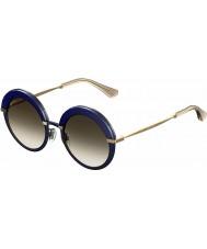 Jimmy Choo Naisten gotha-s 3ue js sininen kulta aurinkolasit