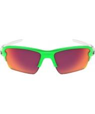 Oakley Oo9188-43 flak 2,0 xl vihreä fade - Prizm kenttä aurinkolasit
