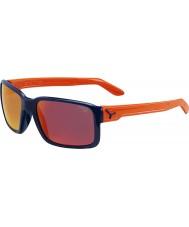 Cebe Jätkä kiiltävä sininen oranssi aurinkolasit