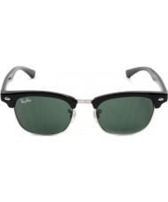 RayBan Junior Rj9050s 45 Clubmaster musta 100-71 aurinkolasit
