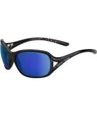 Bolle Sölden kiiltävä musta sinivioletti aurinkolasit