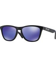 Oakley 24-298 Frogskins mattamusta - violetti iridium aurinkolasit