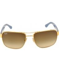 RayBan Rb3530 58 highstreet kulta 001-13 kaltevuus aurinkolasit